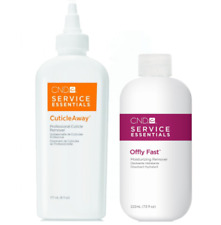 CND Service Essentials CuticleAway 6 oz and Offly Fast Remover 7.5 oz