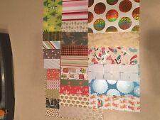 Christmas 6X6 Scrapbook Paper Card Making Paper Crafts Art Glitter Foil