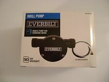 Everbilt Drill Pump for Removing Water