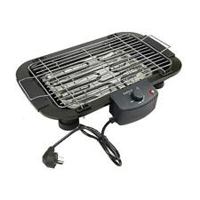 Electric Smokeless Grill Griddle Baking Pan Indoor BBQ Kitchen Digital
