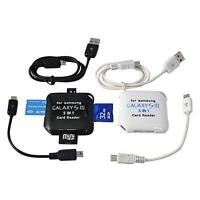 5in1 USB 2.0 High Quality HUB Micro SD MMC MS M2 SDHC Memory Card Reader Adapter