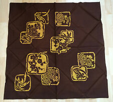 New Japanese brown big furoshiki, wrapping cloth, imported from Japan (B112)