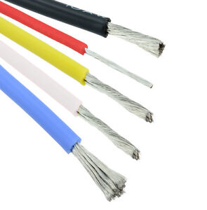 8AWG to 30AWG Flexible Silicone Wire Cable - All Colours and Sizes