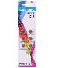 3x Set of 6 AG10 Button Cell Alkaline 392/LR41/Grundig Power +³ Remote AR5158