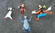 Disney Personajes Figuras de Plástico Estatuillas Toppers para Tarta Goofy Baloo