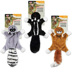 Skinneeez Masked Bandits Assorted Characters unstuffed Animals Toys for Dogs
