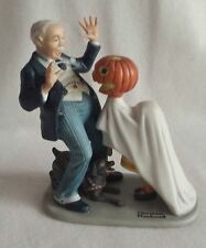 Trick or Treat - Normal Rockwell Danbury Mint Figurine Porcelain - Hand Crafted