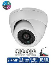 8 PCS HD-CVI 2 MP 1080P HD-TVI HD-AHD Analog Dome Camera Sony CMOS 4 IN 1