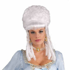 Marie Antoinette Wig Renaissance Victorian Versailles Queen White Womens Adult