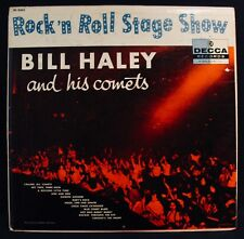 BILL HALEY & HIS COMETS-Rock 'N Roll Stage Show-Rare 1957 Album-DECCA #DL 8345