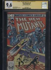 New Mutants #2 CGC 9.6 SS Bob McLeod 1983