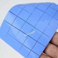 36pcs/lot 2MM 15x15x2mm blue Thermal Conductive Pads Heatsink Chip Compound Pad