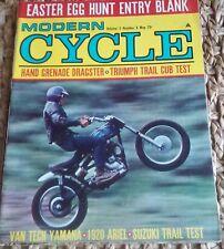 Modern Cycle May 1967 Yamaha 100 Trailmaster Harley M-65S Triumph Cub Ariel 1920