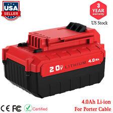 For Porter-Cable PCC685L 20V MAX 4.0 Amp XR Lithium-Ion Battery PCC680L PCC682L