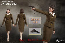 IN STOCK 1/6 Scale JXTOYS 032 Peggy Carter Captain America 12in Action Figure