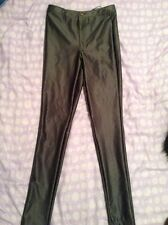 Grey/silver Discopant Trousers From Primark Size 8