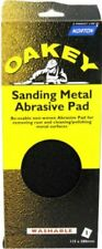 OAKEY Sanding Metal Abrasive Pad Re-usable Rust remove Cleaning Polishing Metal