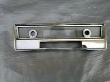 1961-1963 Lincoln Continental Radio face plate