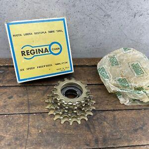 Regina Extra Oro Freewheel 20t Gold 6s 13-20  6-Spd Italy Road English