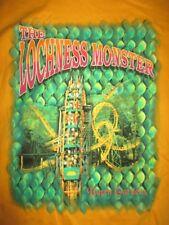 Vintage Busch Gardens Loch Ness Monster Roller Coaster (Xl) T-Shirt w/ Tags