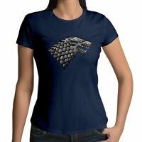 Juniors Girl Women Tee T-Shirt Game of Thrones House Stark Sansa Bran Jon Snow