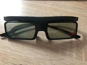 3D - TV  Brille Heim Audio Zubehör von Toshiba ist noch die Schutzfolie darauf