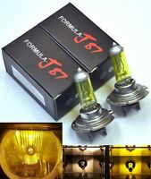 Rally H7 100W 3000K Yellow Two Bulbs Fog Light Replacement High Wattage Off Road