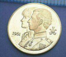 British - 1981 Charles & Diana Medallion