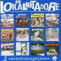 Die Lokalmatadore - Armutszeugnisse  CD  19 Tracks Alternative Rock  Neuware