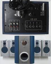 Home Theater System 5.1 FENNER 4 casse + Subwoofer, perfettamente funzionante