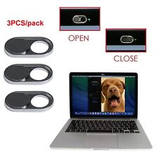 3X Webcam Shutter Camera Schutz Cover für Laptop Tablet iPhone Samsung Handy