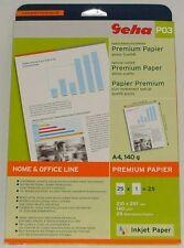 GEHA P 03 DIN A 4 Home & Office Line Premium Papier 4 x 25 = 100(!) Blatt * NEU