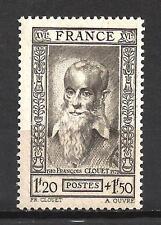 France 1943 François Clouet Yvert n° 588 neuf ** MNH
