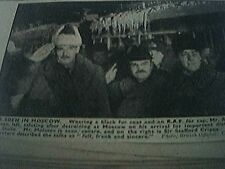 magazine picture world war two ww2 - mr eden in moscow