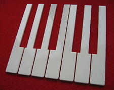 Piano Keytops  - Off White - One Octave- Upright Piano Accessories