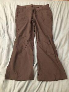 REI Womens Size 14P Petite Roll Up Hiking Pants