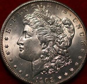Uncirculated 1902-S San Francisco Mint Silver Morgan Dollar