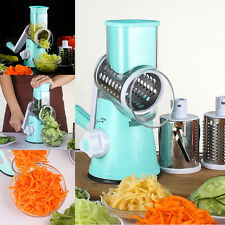 HOT Vegetable Cutter Round Mandoline Slicer Potato Julienne Carrot Grater Cheese