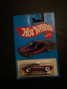 Hot Wheels Blue Card Series: '73 Pontiac Firebird - purple