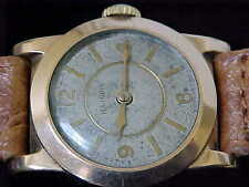 Vintage 1930s Illinois Wristwatch In Circular Case All Original Manual Wind