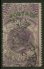 India  1866  Scott # 30  USED