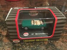 1/87 Scale 1964 And a Half Ford Mustang Convertible Green Diecast