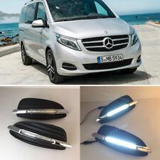 For Mercedes Benz V250 V260 2015-2017 Car Driving LED Daytime Running Lamp Light