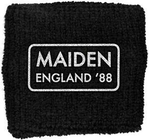 Official Iron Maiden England Sweatband Wristband NEW