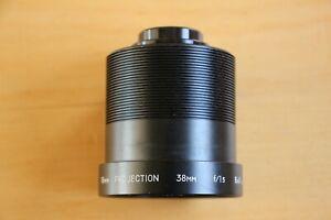 Bell & Howell Filmosound 16mm Projector 38mm f/1.5 Short Throw Lens