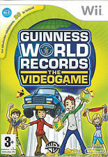GUINNESS WORLD RECORDS THE VIDEOGAME for Nintendo Wii - with box & manual - PAL