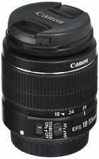 Canon EF-S 18-55mm f/3.5-5.6 II IS Lens 2042B002 F/ Canon 60D 70D T2i T1i Camera