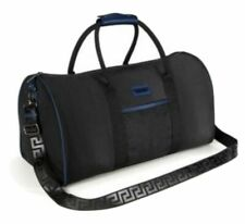 BRAND NEW VERSACE MENS TRAVEL WEEKEND HOLDALL DUFFLE FLIGHT SPORTS GYM BAG