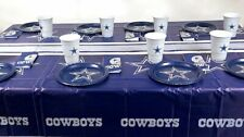 DALLAS cowboys  49  piece party  set  Super Bowl and playoffParties