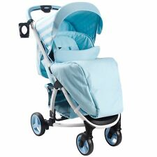 My Babiie MB100 From Birth Baby Pushchair / Pram - Billie Faiers Blue Stripes